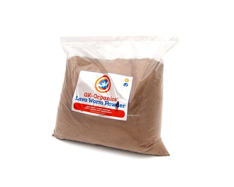 GK-Organics Lava Worm Powder