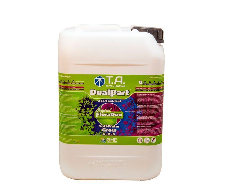 DualPart Grow Agua Blanda 10L