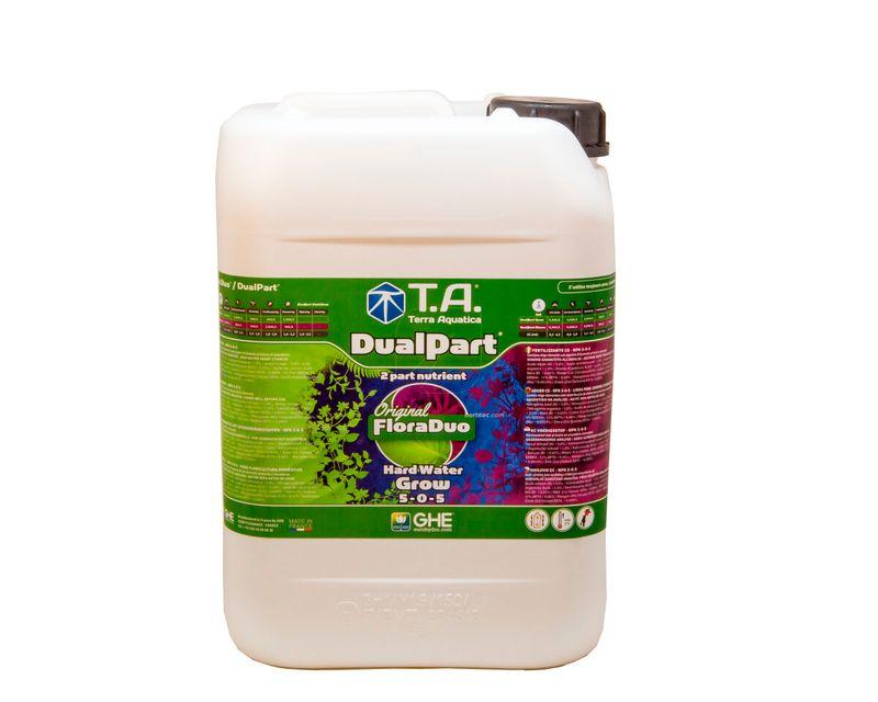 DualPart Grow Agua Dura 10L