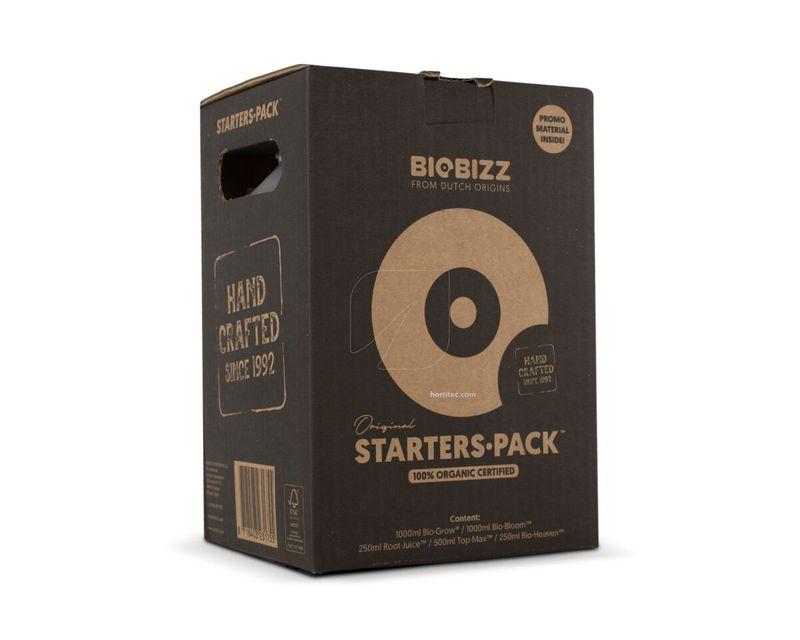 Starters Pack Biobizz Caja