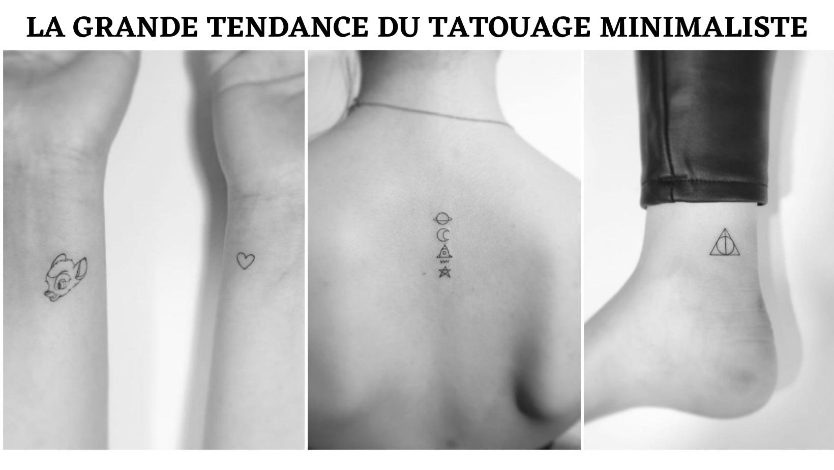 tatouage minimaliste