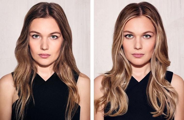 mode contouring cheveux