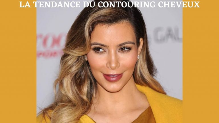 contouring cheveux