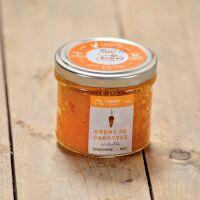 Crème de carottes acidulée