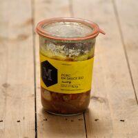 Sauté de porc Bio au curry (700g)