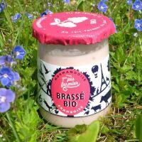 Yaourt brassé framboise Bio