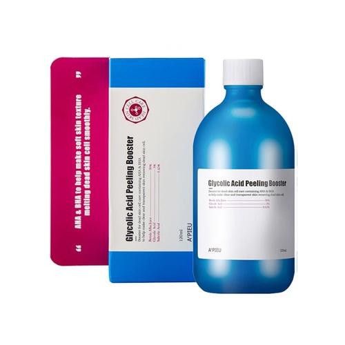 Пилинг-бустер для лица увлажняющий с АНА и ВНА кислотами A'pieu Glycolic  Acid Peeling Booster 120ml   Натуральная корейская косметика