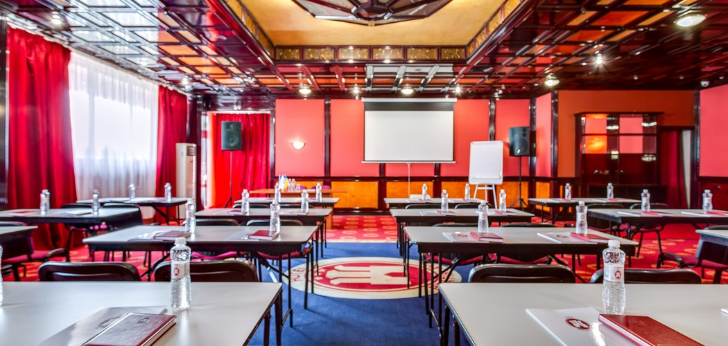 Red Conference Hall