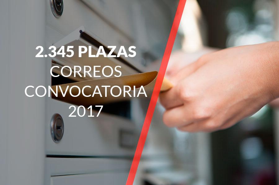Oposiciones a Correos y Telégrafos 2017