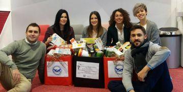 Implika participa en la campaña de recogida solidaria de alimentos