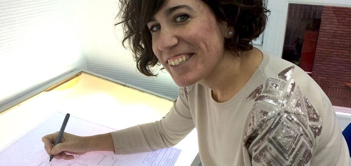 """""""Almudena Unzalu me inculcó la pasión por la decoración"""""""
