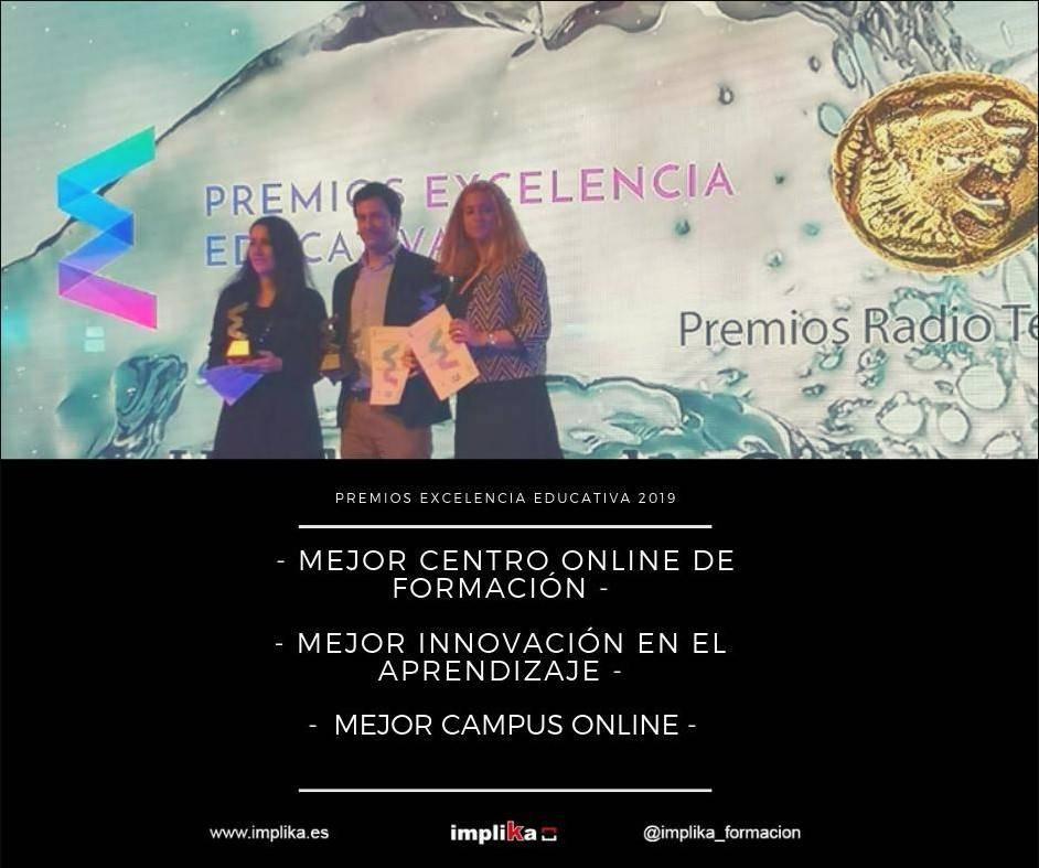 Grupo Implika consigue un triplete en los Premios Excelencia Educativa