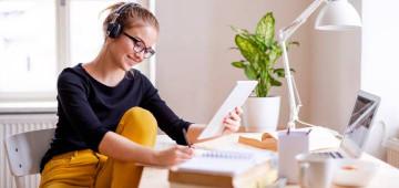 Tips para estudiar online desde casa