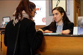 Implika: opiniones de Marina contratada como Recepcionista de Hotel