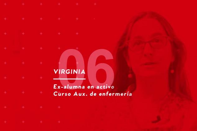 Virginia, alumna de Auxiliar de Enfermería, aporta algunas opiniones sobre Implika