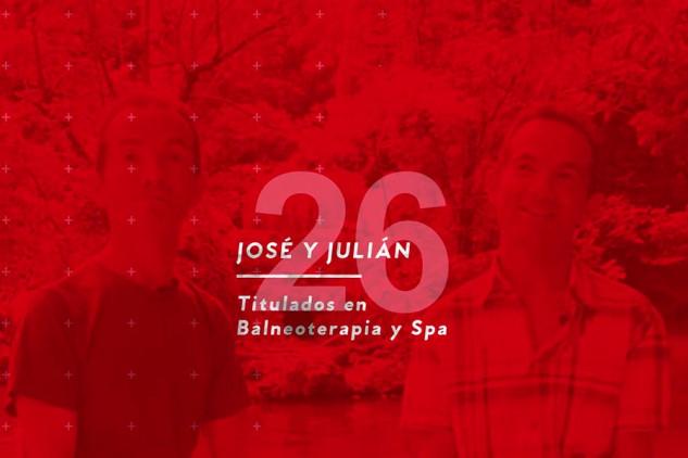 Opiniones sobre Implika de José y Julián, titulados en el curso de Balneoterapia y Spa