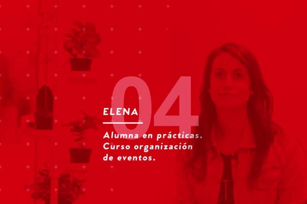 Elena, alumna del curso Organización de Eventos, nos habla sobre su experiencia en Implika