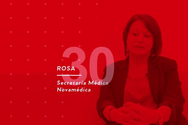 La opinión sobre Implika de Rosa, alumna del curso de Secretaría Médica