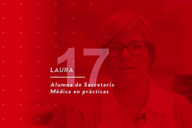 Laura, estudiante del curso de Secretaría Médica, opina sobre Implika