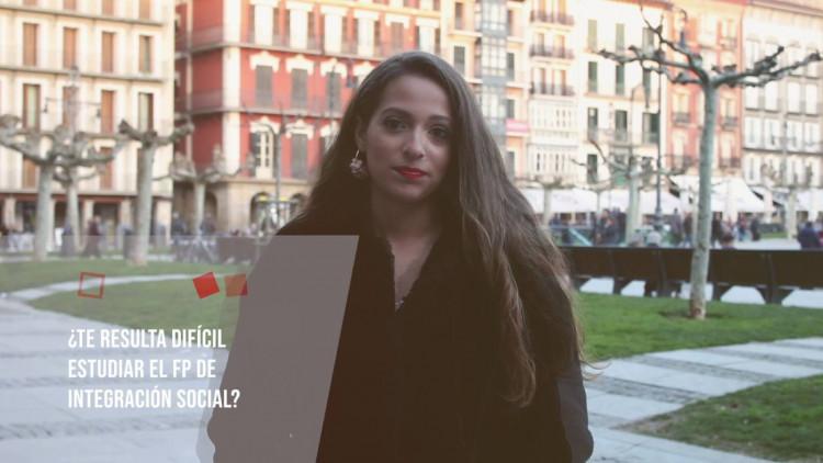 Laura Beltrán, nos cuenta su vocación para estudiar la FP en Integración Social