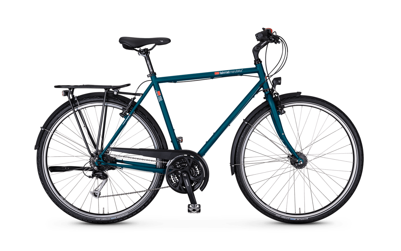 VSF T-100 Shimano Alivio 27-speed / V-Brake Ladies
