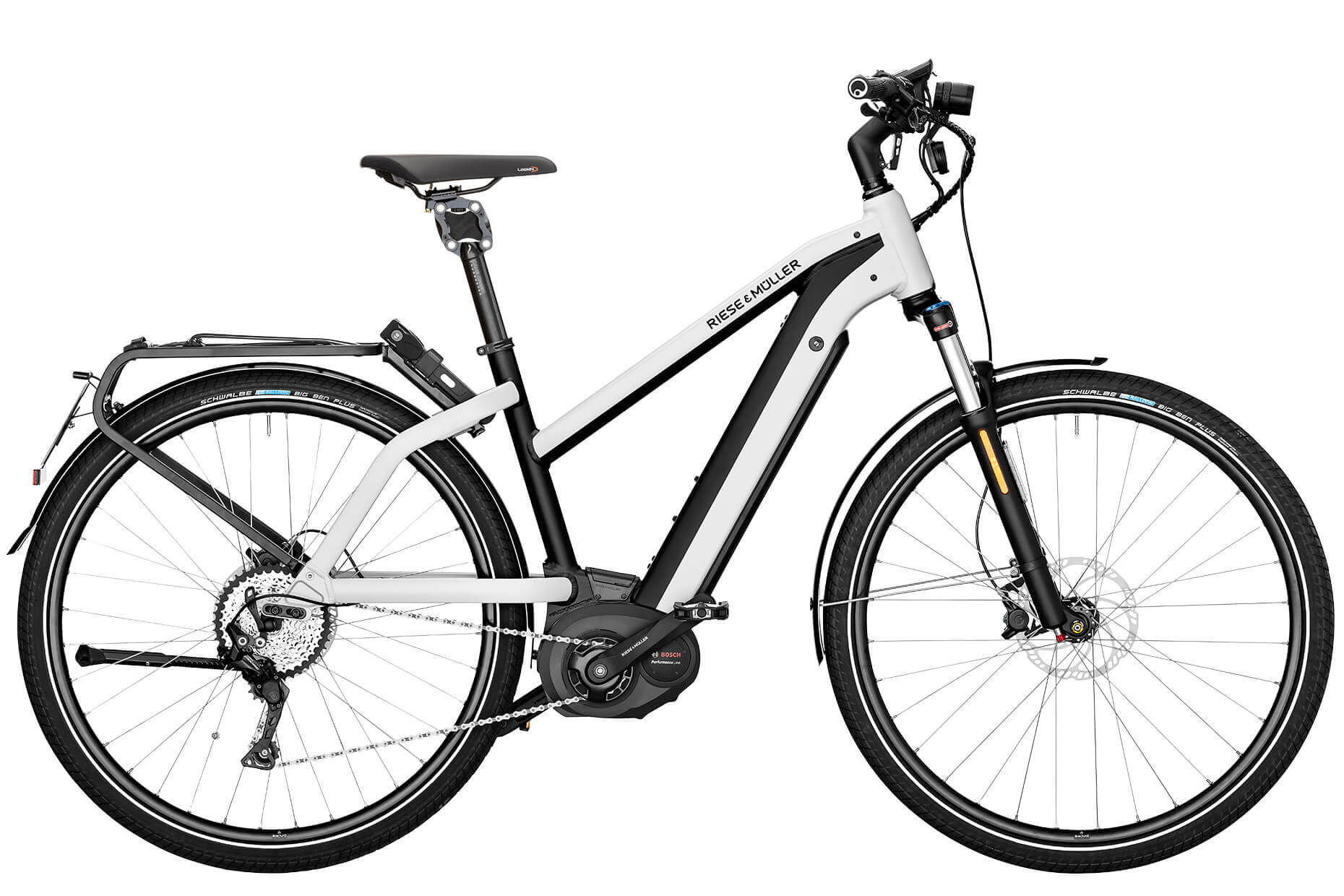 Riese Amp Muller Charger Mixte City Ibike