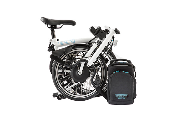 Brompton Electric 6 Speed White