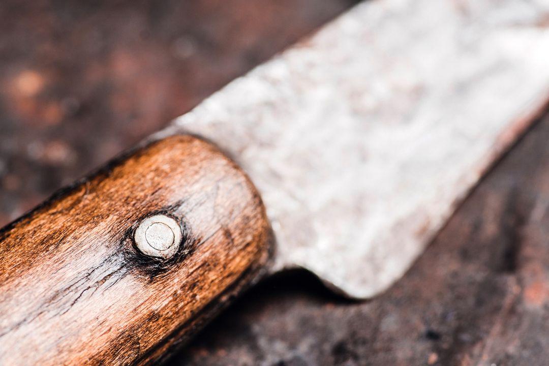 Onderdelen van een mes