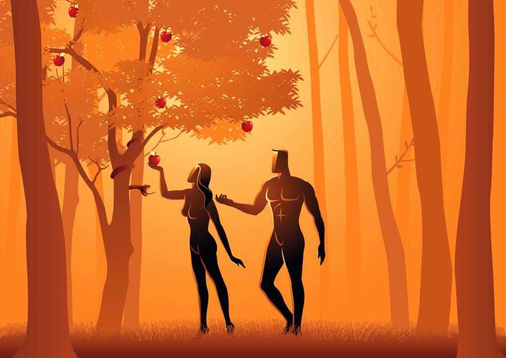 Het verhaal van Adam en Eva