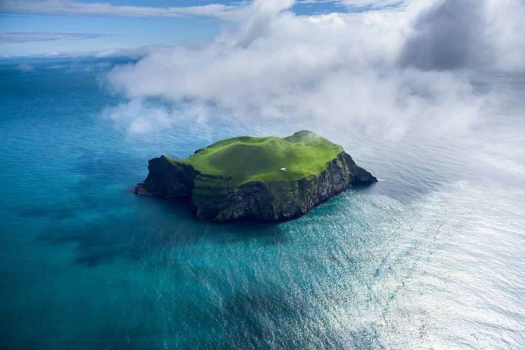 Het is een eiland