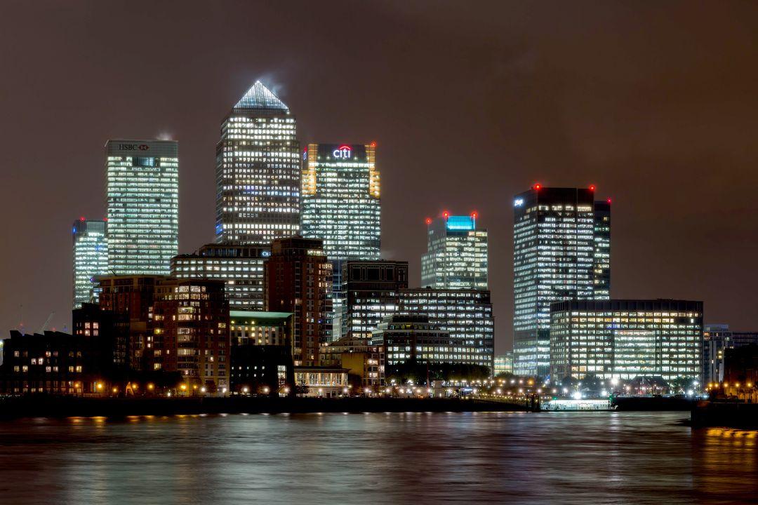 "Canary Wharf & the ""City"""