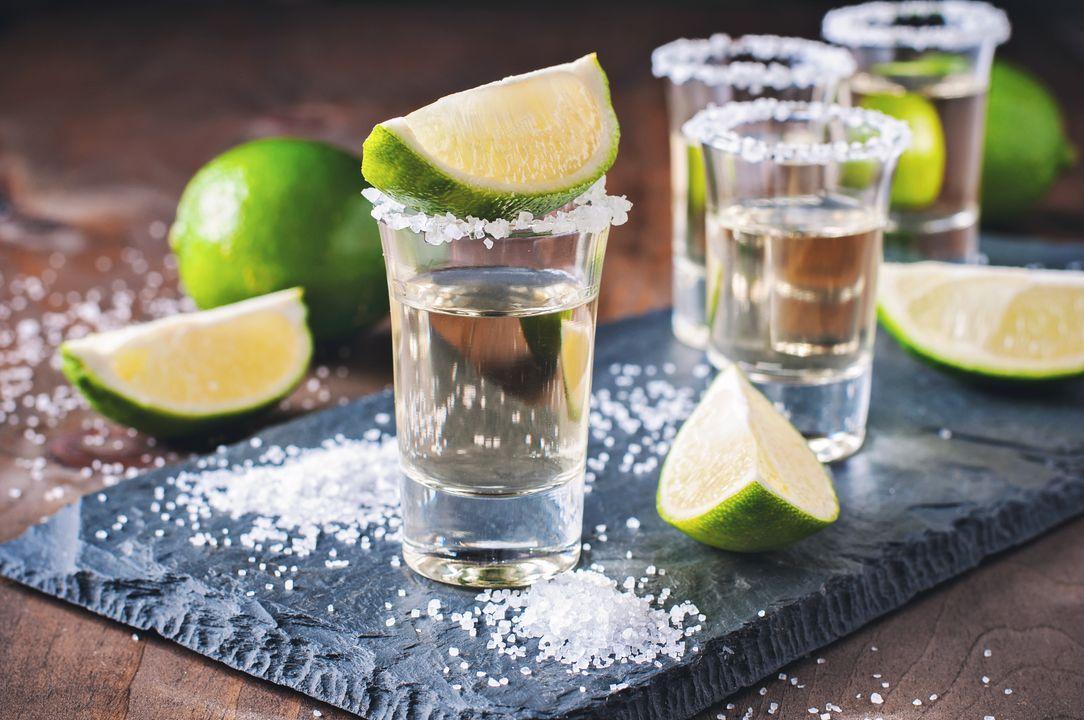 Met zout en limoen