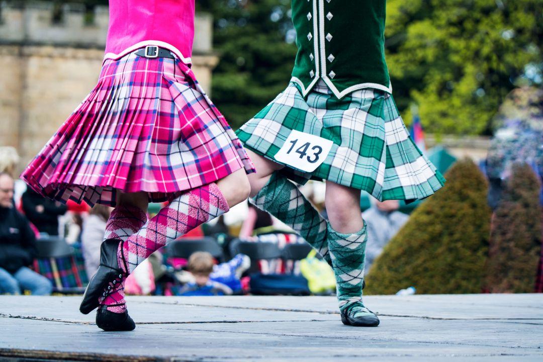 Highland dansen
