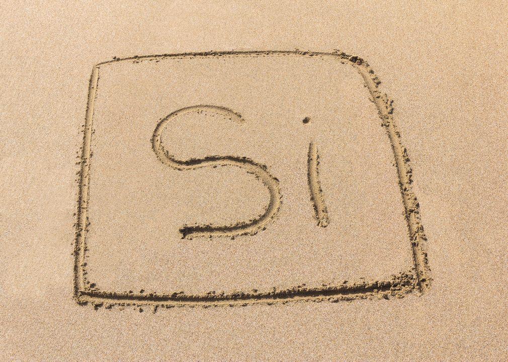 Silicon = Engels voor silicium
