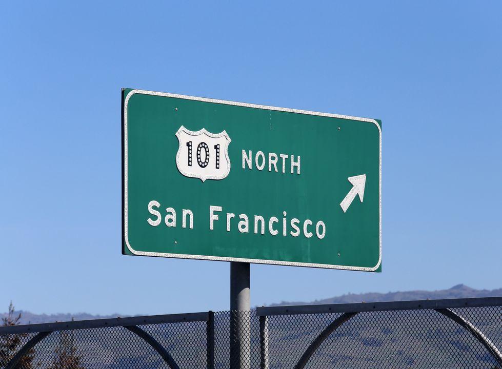 Vlakbij San Francisco
