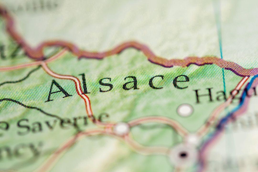 Elzas (Frans: Alsace), Frankrijk