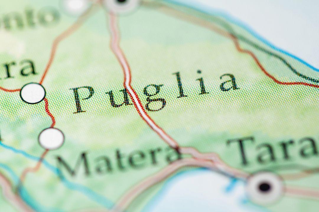 Apulië (Italiaans: Puglia), Italië