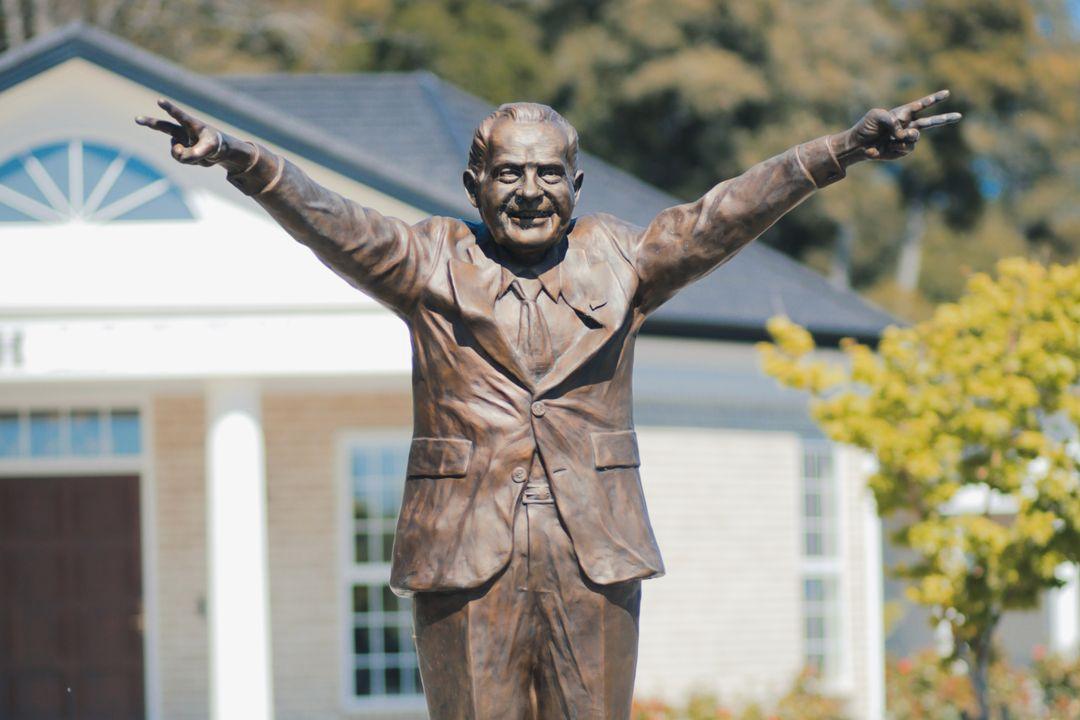 Standbeeld van Nixon