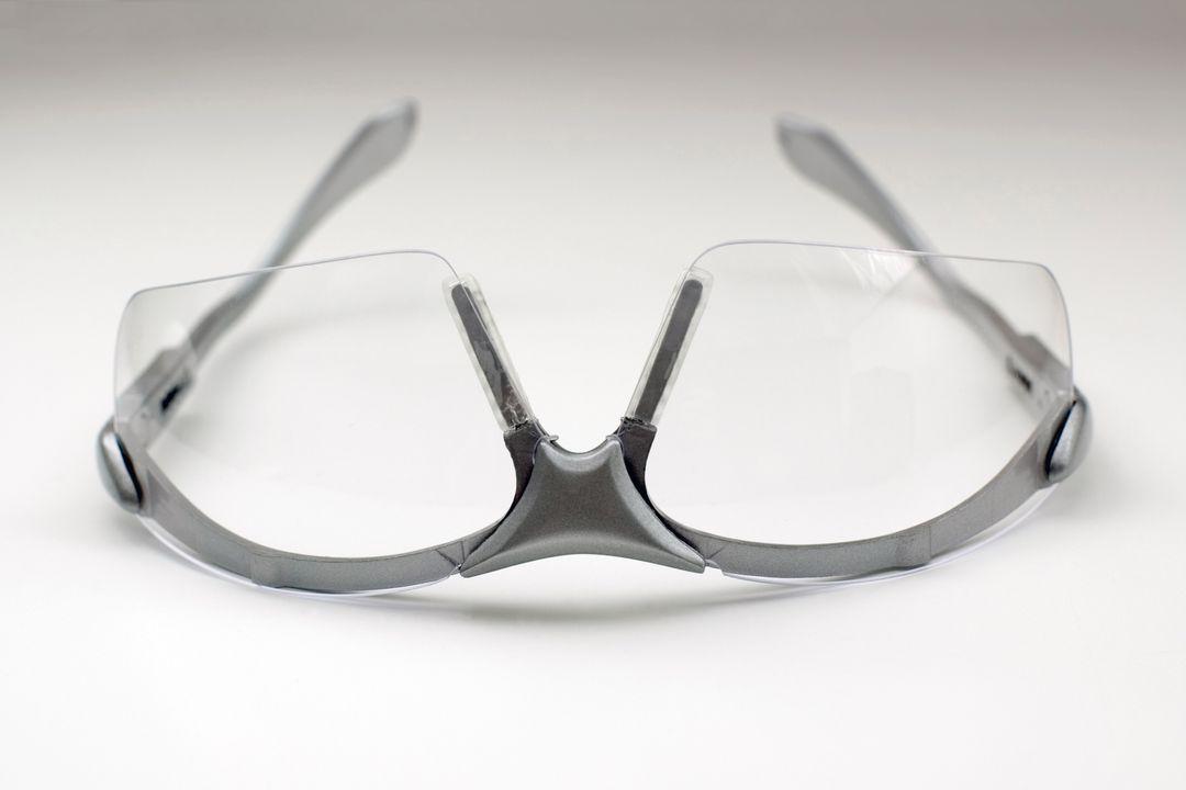 Squashbril ter oogbescherming