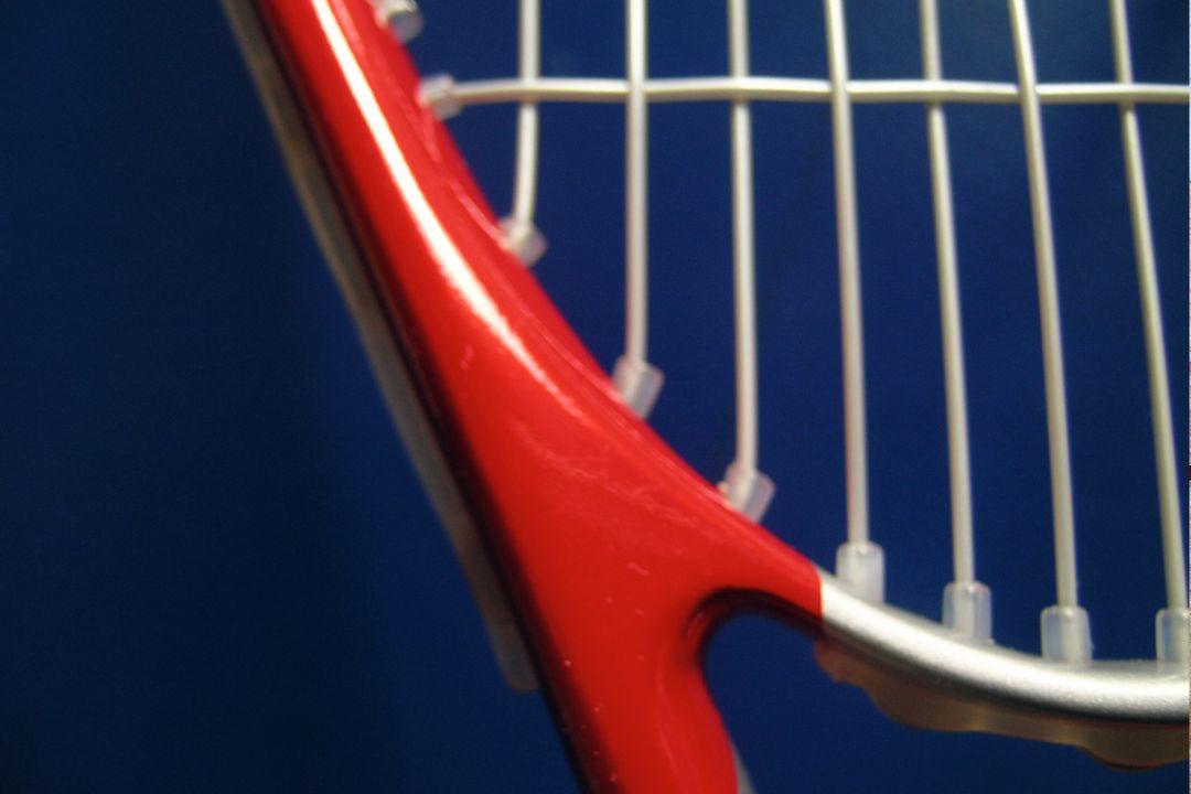 Squashracket closeup