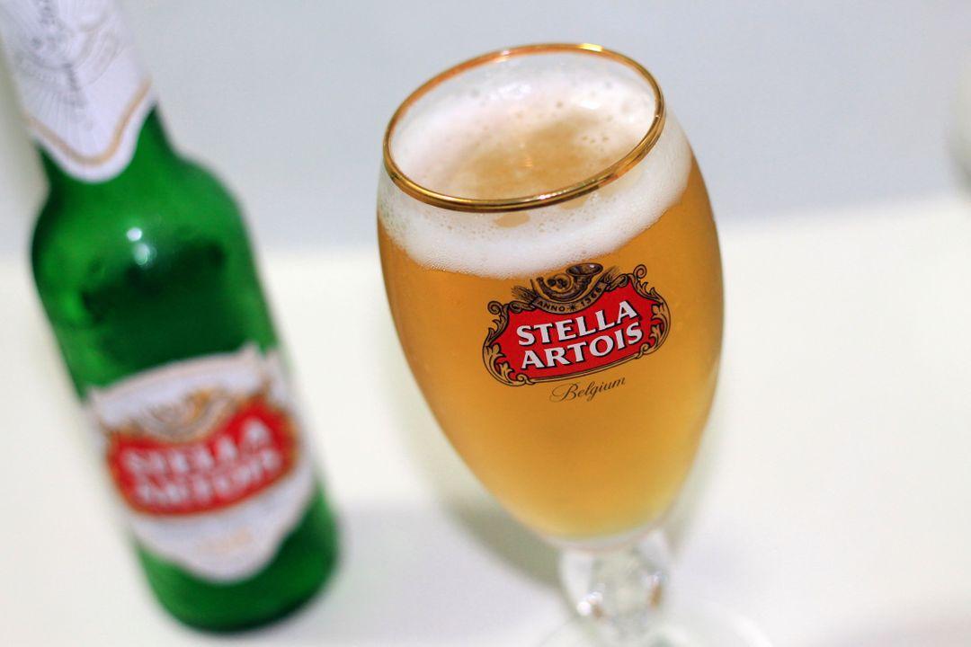 Stella Artois is eigendom van AB Inbev