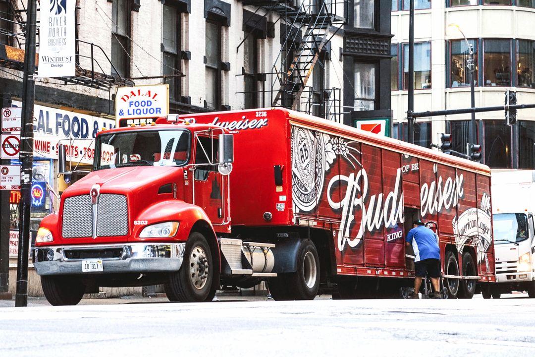 Budweiser is eigendom van AB Inbev