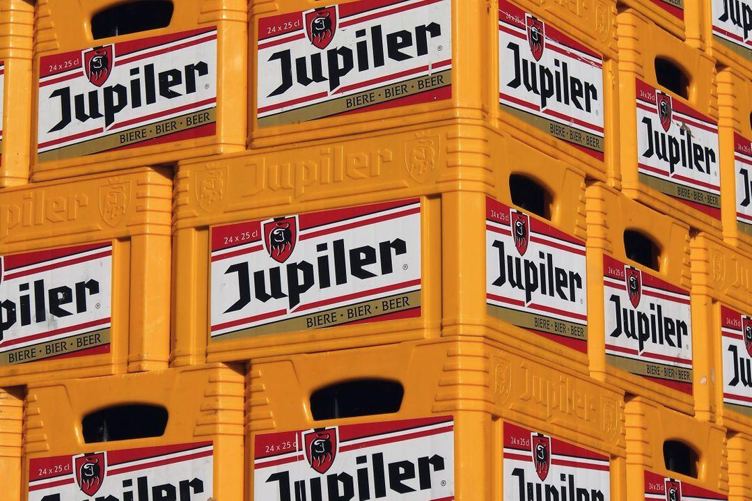 Jupiler is eigendom van AB Inbev