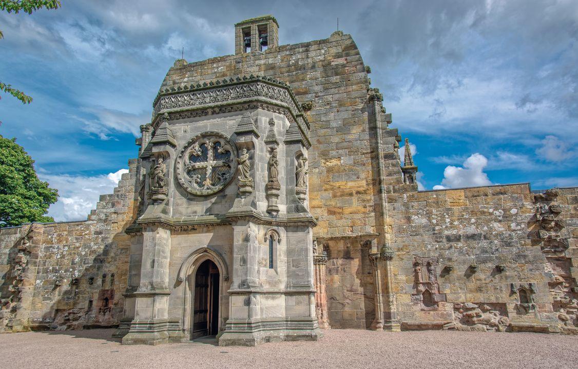 """Rosslyn Chapel (uit de """"Da Vinci code"""")"""