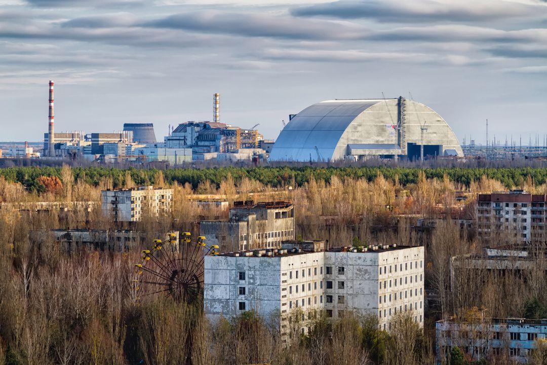 Pripjat en de kerncentrale van Tsjernobyl