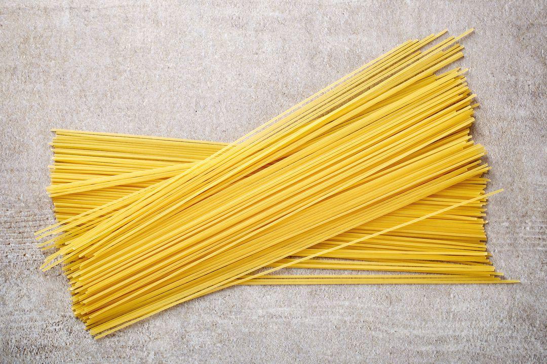 Vooral gegeten met spaghetti