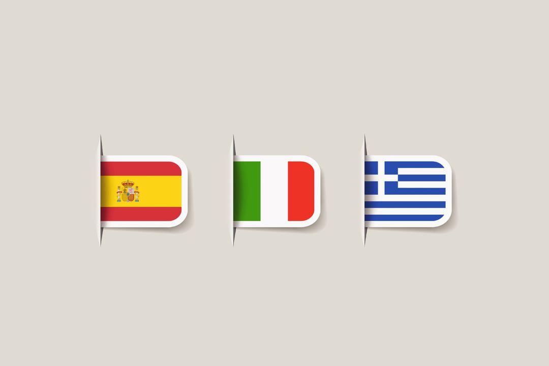 Typisch in de Spaanse, Italiaanse en Griekse keuken