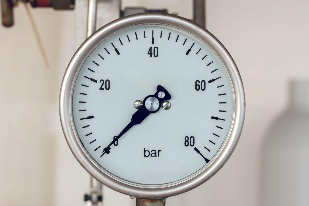 In een perfect vacuüm bedraagt de druk nul.