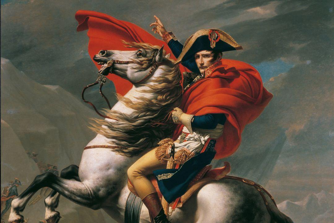 Napoleon leefde verschillende keren in ballingschap.