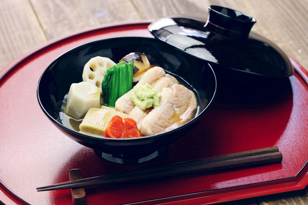 Jibuni (eend vlees stoofpot)